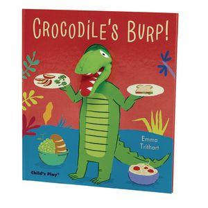 Crocodile's Burp! Puppet Book