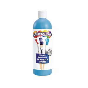Colorations® Sky Blue Simply Washable Tempera Paint - 16 oz.