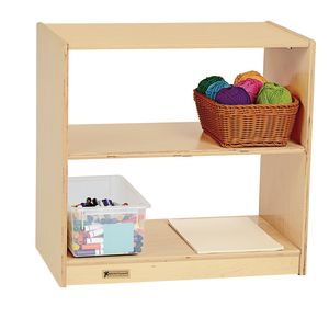 MyPerfectClassroom® VersaSpace™ Open 2-Shelf Storage