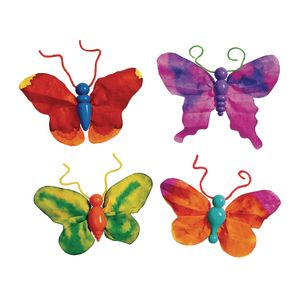 Butterfly Ornaments Kit, 75 Pieces
