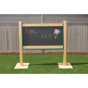 Outdoor Magnetic Chalkboard 4' Portable