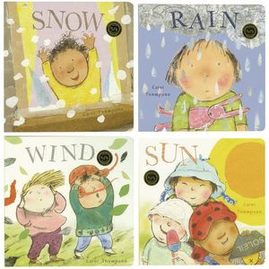 Weather Board Books Set of 4