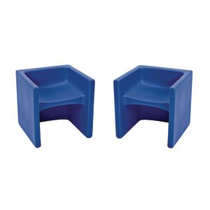 Cube Chair 2 Pack - Blue
