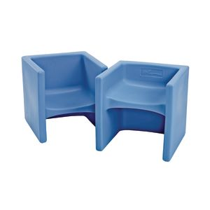 Cube Chair 2 Pack - Sky Blue