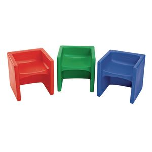 Cube Chairs 3 Pack - Bright Set