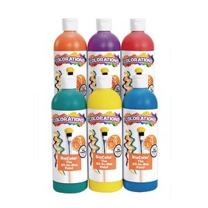 BioColor® 16 oz. Rainbow 6-Pack