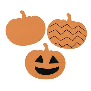 Colorations® Scratch Designs Pumpkins Set of 36