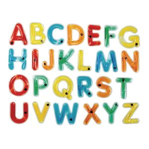 Uppercase Squishy Alphabet Letters Set of 38