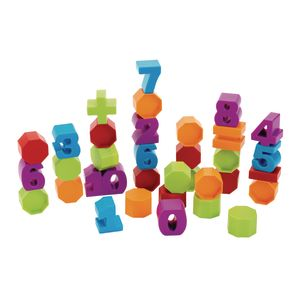 Number Stacking Blocks 34 Pieces
