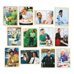 Career Puzzles Set of 12