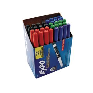Expo® Fine Tip Dry-Erase Marker Set of 36