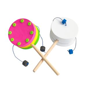Decorate Your Own Spin Drum Set of 12