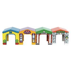 Environments® Toddler Block Neighborhood Set of 4
