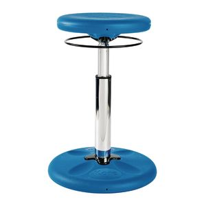 Adjustable Height Kore™ Wobble Stool Blue