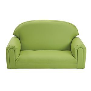 Environments® PVC-Free Mini Sofa - Apple Green