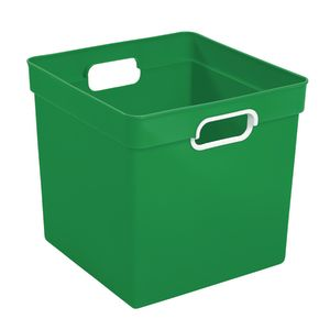 Cube Storage Bin Green