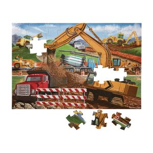 Building Site Floor Puzzle 48 Pieces
