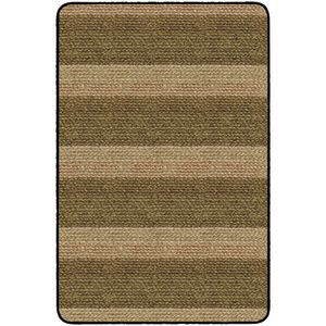 Basket Weave Stripes Carpet