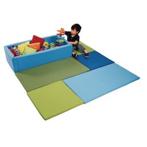 Environments® PVC-Free Play Mat & Toy Box
