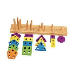 Excellerations® Shape Sorter - 16 Pieces