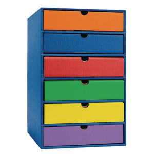 Classroom Keepers 6-Shelf Drawer Set