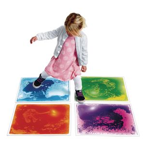 Excellerations Large Liquid Tiles Set of 4