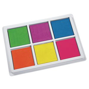 Colorations® Jumbo Washable Neon Classroom Stamp Pad