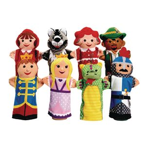 Puppet Pals Hand Puppet Set of 8