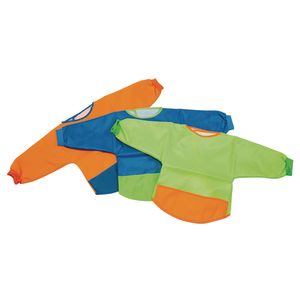 Environments® Waterproof Long-Sleeved Bibs Set of 6