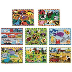 Toddler Chunky Puzzles Set of 8