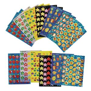 Sparkle Sticker Teacher Variety Pack 20 Sheets