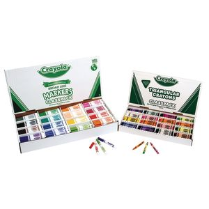 Crayola® Classpack® Markers & Crayons Kit