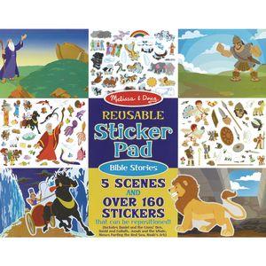 Reusable Sticker Pad Bible Stories