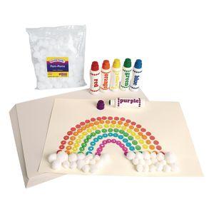 Inspirational Rainbow Art Kit