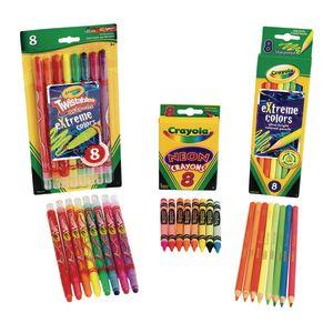 Crayola® Neon Assort 24 Ct Kit