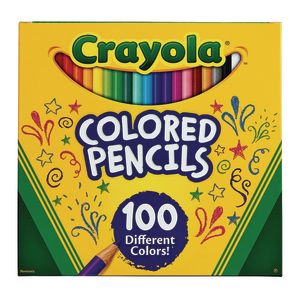Crayola® 100 Count Colored Pencils