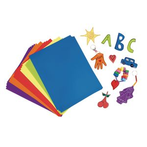 RAINBOW SHRINK-IT SHEETS - 24 SHEETS