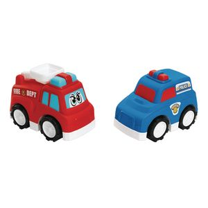 Jumbo Road Masters Emergency Vehicles Set of 2