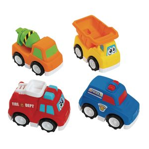 Jumbo Road Masters Vehicles Set of 4