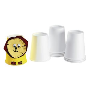 Colorations® Paper Art Cups Set of 50