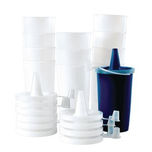 12 oz. Paint Dispenser with Lid Set of 12