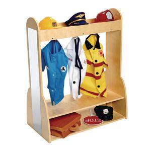 Excellerations® Wide-Base Dress-Up Unit - Assembled