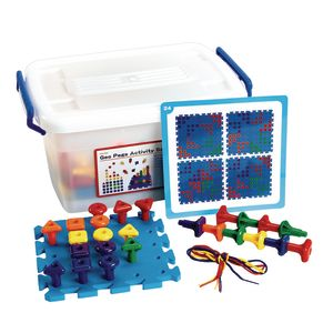 Geo Pegboard Classroom Activity Set