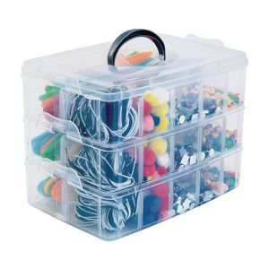 Colorations® Ready To Go 3 Tray Craft Caddy