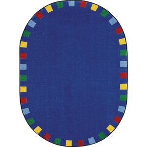 "On The Border Rug - 5'4"" x 7'8"" Oval"