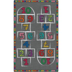Hopscotch Carpet - 3' x 5' Rectangle