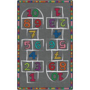 Hopscotch Carpet - 4' x 6' Rectangle