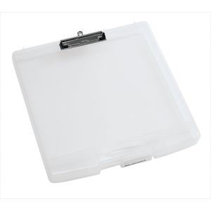 Portable Art Storage with Clip Clear