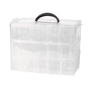 3-Tier Plastic Craft Caddy