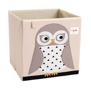 Infant/Toddler Animal Storage Bin Owl Design